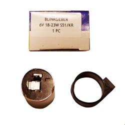 Flasher relay 6V 18-231W