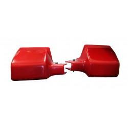 Protektoren rot Simson S50, S51, S70 im Satz (Handschützer)