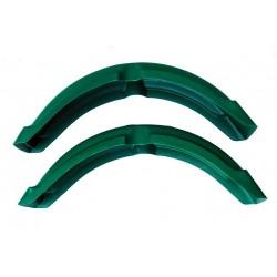 Błotnik przedni ENDURO zielony / S51, S70