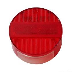 Klosz lampy tylnej okrągły, czerwony długi odblask S51, S70, KR51/2, SR50, MZ