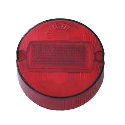 Klosz lampy tylnej okrągły czerwony S50