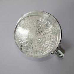 Kierunkowskaz okrągły tył, klosz bezbarwny, korpus chromowany Simson, MZ