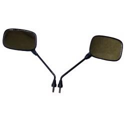 Spiegel schwarz, oval, M10 ( 2 Stück )