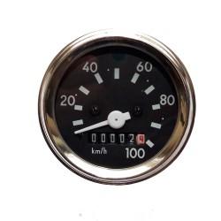 Tacho mit Blinkerkontrolle S51, S70 bis 100 km/h (Ø60) (Aka Electric*)