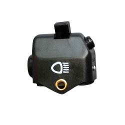 Abblendschalter schwarz mit Innenteil + Plastikkappe S50, KR51, KR51/1, KR51/2 (mit Lichthupe)