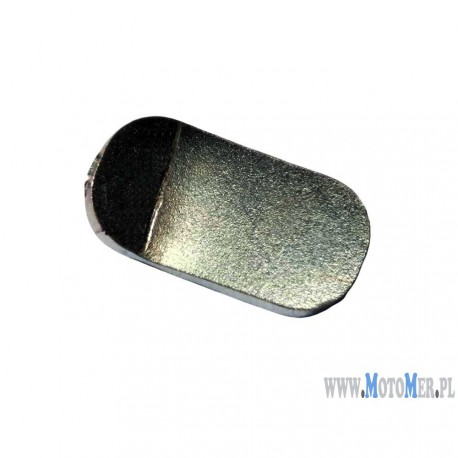 Blaszka gumy podnóżka, nakładka gumy tył WSK Romet