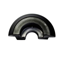 Half-shell for strut small black (plastic) S50, S51, KR51 / 1, KR51 / 2, SR4-1, SR4-2, SR4-3, SR4-4