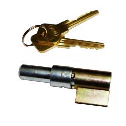 Castle - steering lock fits ETZ125, ETZ150, ETZ250, TS125, TS150, TS250, (built after 1988)