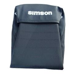 Pokrowiec siedzenia SIMSON Enduro pikowany czarny