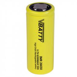 Akumulator ogniwo bateria IMR 26650 3.7 v 4200 mAh 50A CE