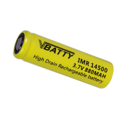 Akumulator ogniwo bateria IMR 14500 3.7 v 880 mAh 12A CE
