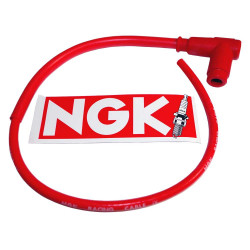Racing cable NGK single lead typ CR2 (STOCK  No. : 8048)