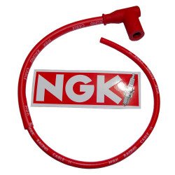 Racing cable NGK single lead typ CR4 (STOCK  No. : 8054)