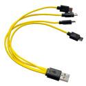 Przewód USB - 4x mini USB