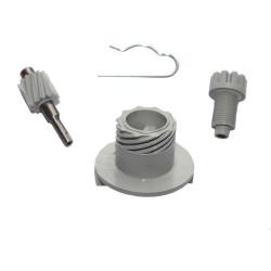 Speedometer drive mechanizm complete, 3 piece S51, S70, SR50, SR80, KR51 / 2
