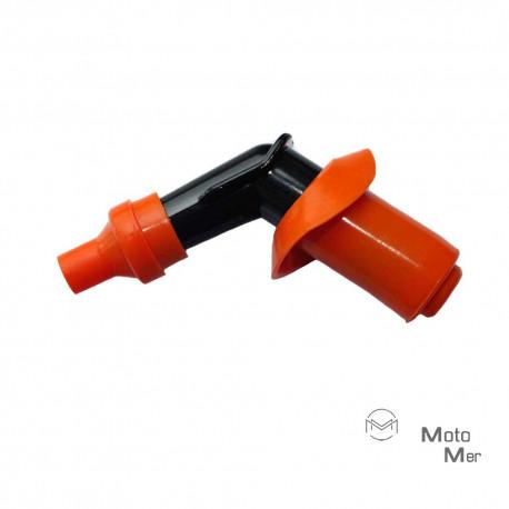 Spark plug connectors