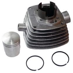 Cylinder WSK125 52mml. + tłok + 2 pierścienie