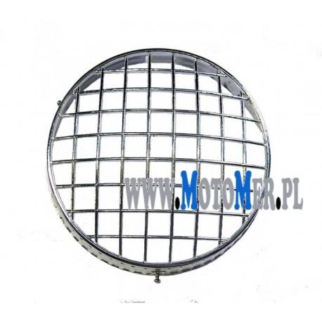 Osłona reflektora chromowana MZ ETZ, MZ TS, JAWA ( kratka na reflektor )