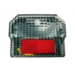 Taillight complete, angular Rear lamp, Rear light ETZ, S51, SR, S60, S70, S80