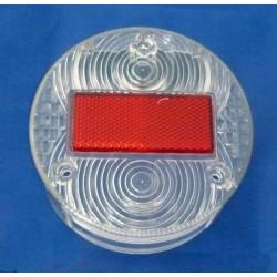 Tail light lens ( white/red ) for MZ ETZ, Simson S51