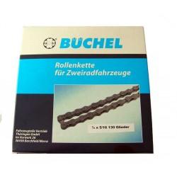 Motorcycle Chain. 130 link MZ TS250, TS250/1, ETZ251 Büchel*