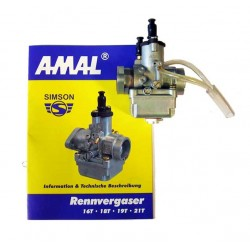 Racing carburetor AMAL 19,00 mm Simson