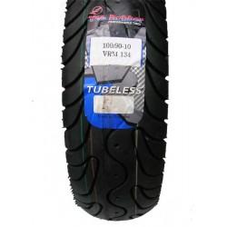 Reifen 100/90 - 10 VRM - 134 (56L) TL (Vee Rubber*)