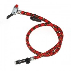 Foot pump hose with T-Stueck