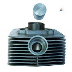 Cylinder ETZ-150 z tłokiem, pierścieniem i sworzniem,