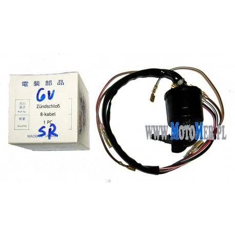 Ignition Switch  SR50, SR80, 6V 8 out