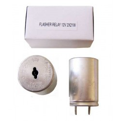 Flasher relay 12V 2x21W
