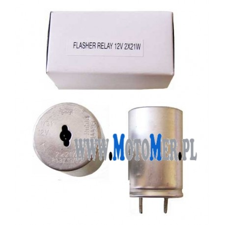 Flasher relay 12V 2x21W