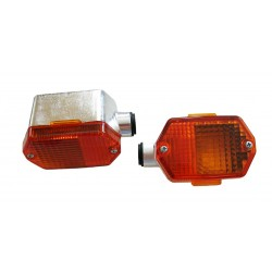 Indicator MZ, Simson six-sided orange, chrome-look