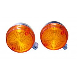 Indicator rear orange, chrome-look Simson, MZ