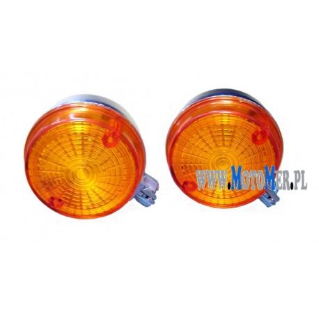 Indicator rear orange, chrome-look Simson, MZ