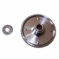 Clutch Basket + Worm Drive Shaft 65/20toothed - Simson S51