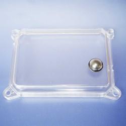 Tachoglas eckig für Tacho SR50, SR80