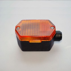 Blinker (vorn+hinten) MZ, Simson, SR50, SR80 sechs-eckig, orange