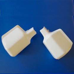 Hand Protectors white classic Simson S50, S51, S70, SR50, Enduro