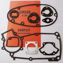 Engine gaskets set Simson S50
